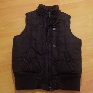 Bluenotes Black Vest with white Sherpa Lining